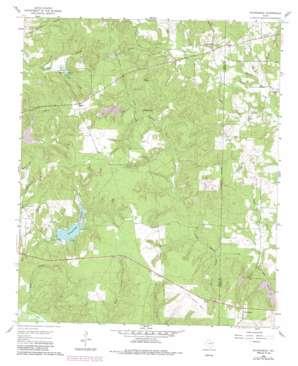 Rhonesboro USGS topographic map 32095g2