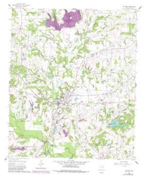 Quitman topo map