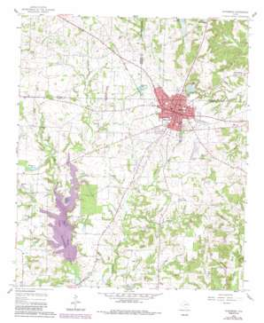 Winnsboro topo map