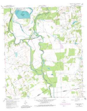 Creslenn Ranch USGS topographic map 32096a1