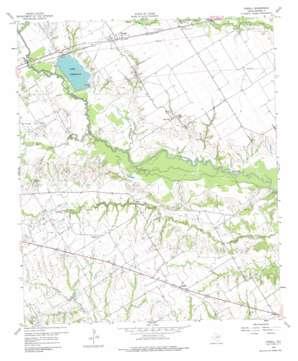 Powell topo map