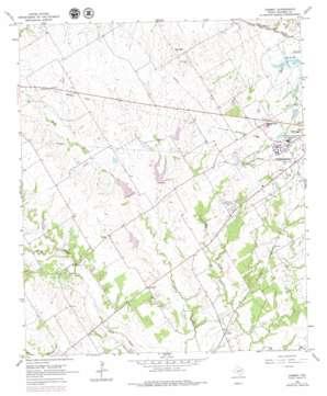 Corbet topo map