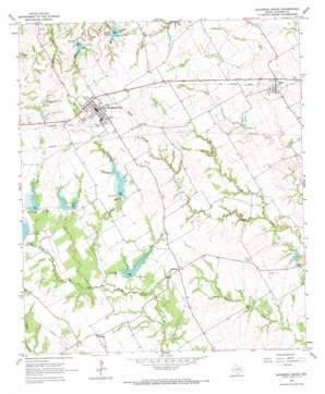 Blooming Grove topo map