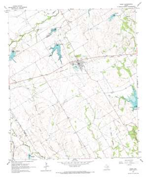 Frost topo map