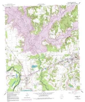 Malakoff topo map