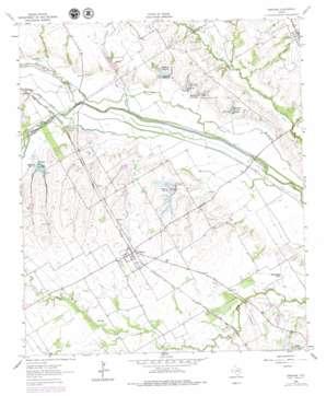 Emhouse topo map