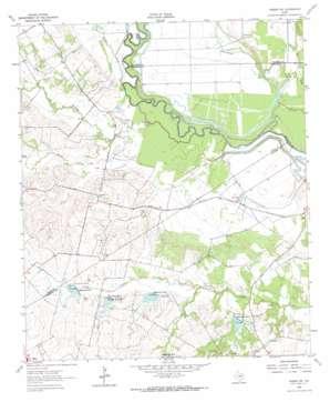 Rosser SW USGS topographic map 32096c4