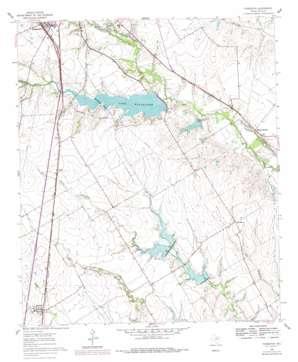 Forreston topo map
