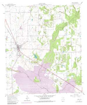 Kemp topo map