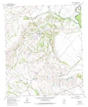 Bristol topo map