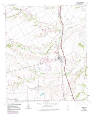 Palmer topo map