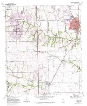 Lancaster USGS topographic map 32096e7