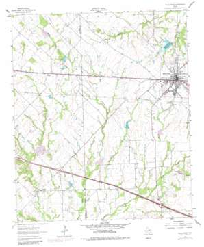 Wills Point topo map