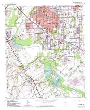 Hutchins topo map