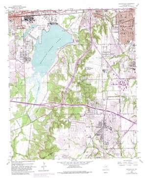 Duncanville topo map