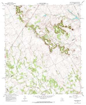 Camp Branch topo map