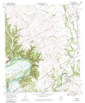 Blum topo map