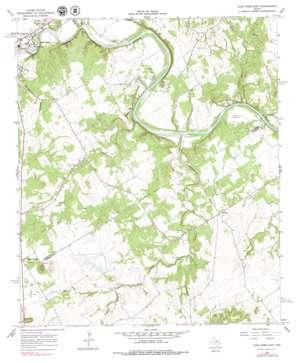 Glen Rose East USGS topographic map 32097b6