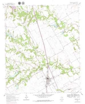 Grandview topo map