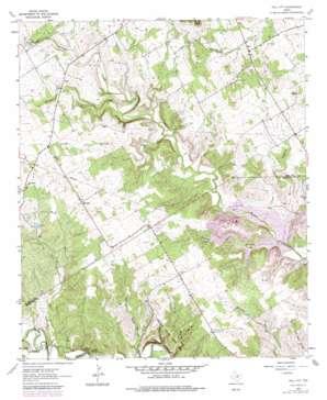 Hill City topo map
