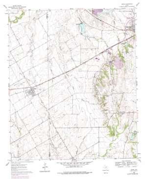 Venus USGS topographic map 32097d1