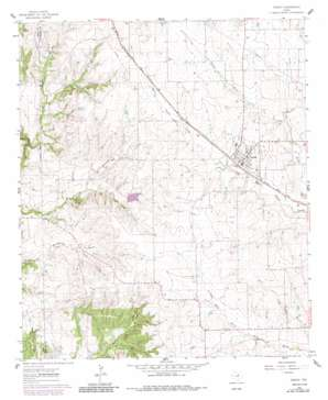 Godley topo map