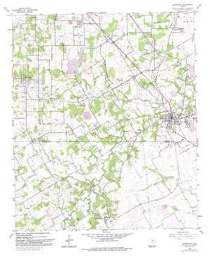Mansfield USGS topographic map 32097e2