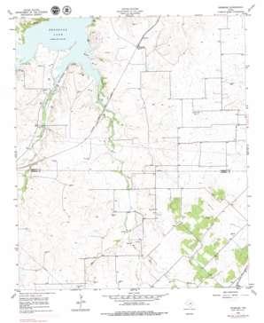 Primrose topo map