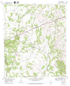 Brock topo map