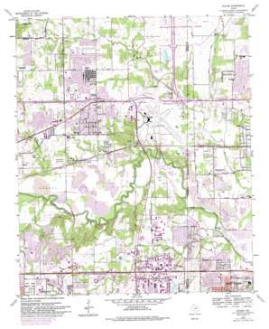 Euless topo map