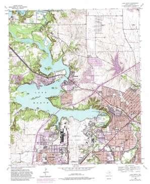 Lake Worth topo map