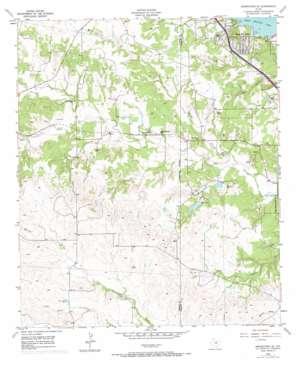 Springtown Se topo map