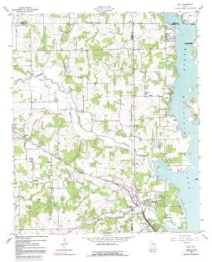 Azle USGS topographic map 32097h5
