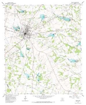 Dublin topo map