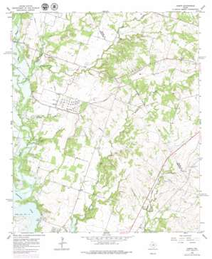 Comyn USGS topographic map 32098a4