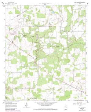 Sipe Springs USGS topographic map 32098a7