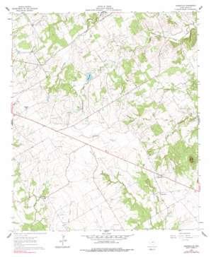 Johnsville topo map