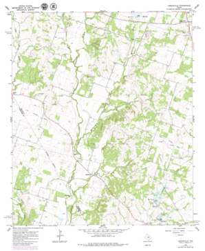 Lingleville topo map