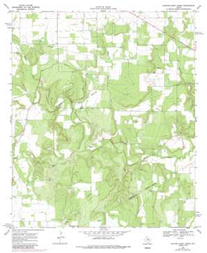 Hunting Shirt Creek topo map