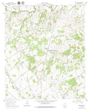 Knob Hill topo map