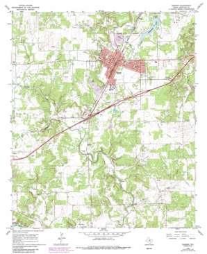 Ranger USGS topographic map 32098d6