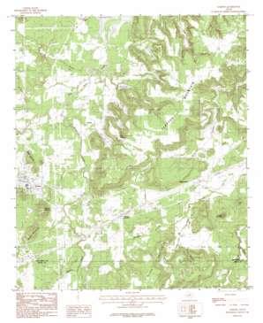 Gordon topo map