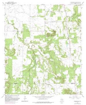 Harpersville topo map