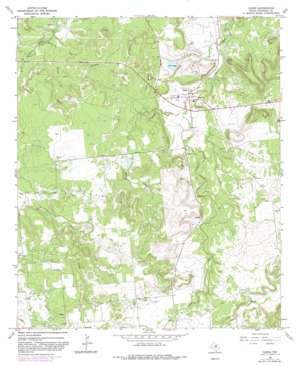 Caddo topo map