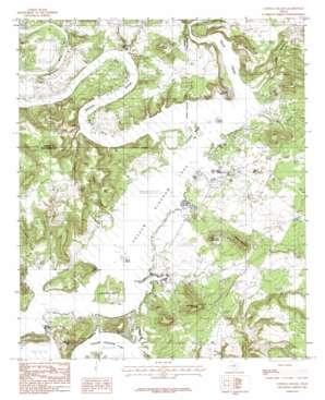 Costello Island topo map