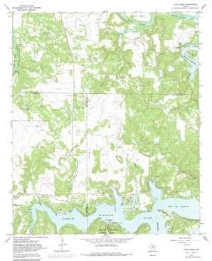 Cove Creek topo map