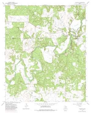 Eliasville topo map