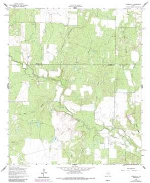 Webbville topo map