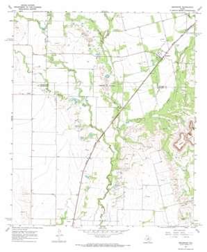 Bradshaw topo map