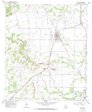 Tuscola USGS topographic map 32099b7